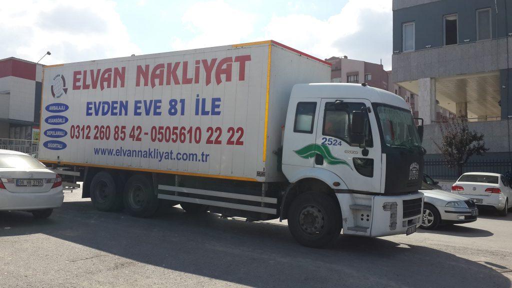 Elvan Taşımacılık Ankara